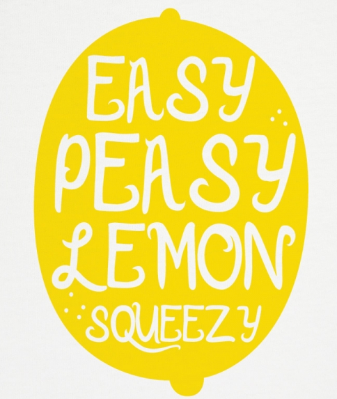 easy peasy lemon